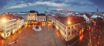 17461903 - bratislava panorama - slovakia - eastern europe city